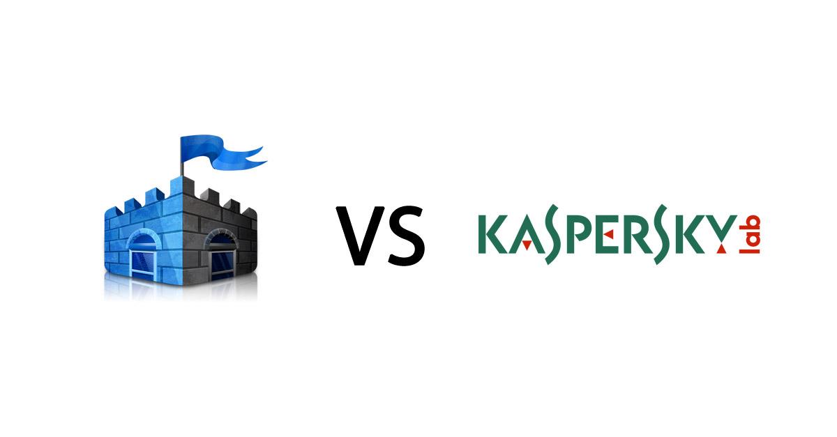 kaspersky vs windows